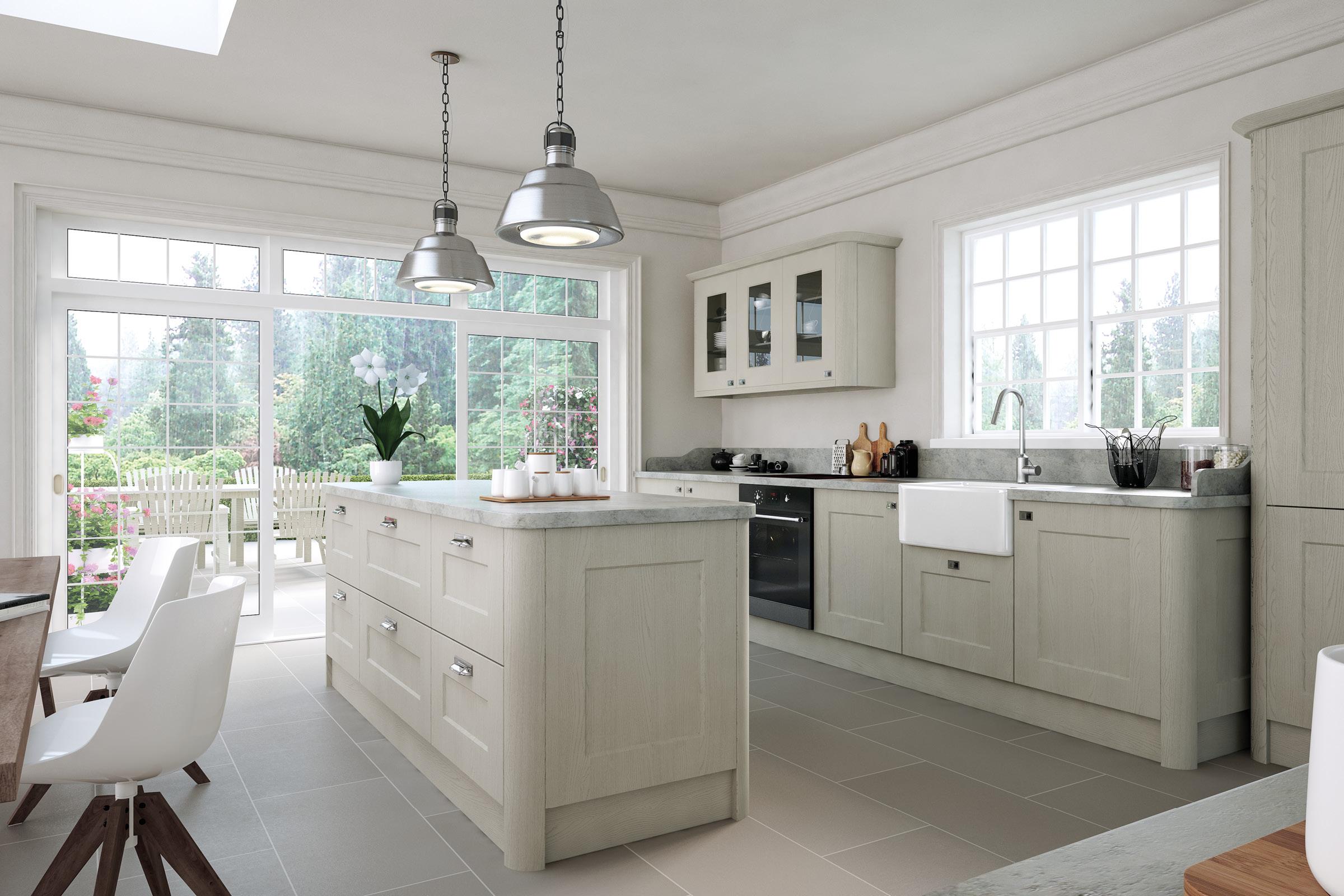 Bella Oakgrain Grey / Style: Cambridge