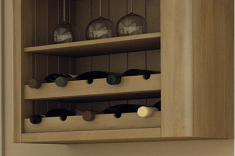 Wine Rack Rail