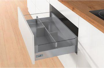 Adjustable drawer divider kits