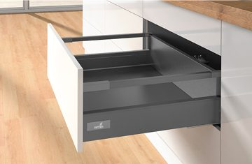 Multi-purpose high sided saucepan and storage drawers