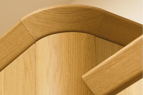 Curved Corner Feature & Tangent Cornice **