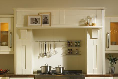 Mantle with narrow shelf option **