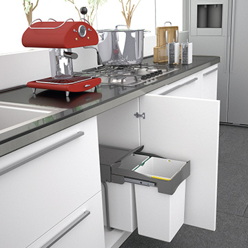 Under sink storage bin. Ideal for compact spaces (25L)
