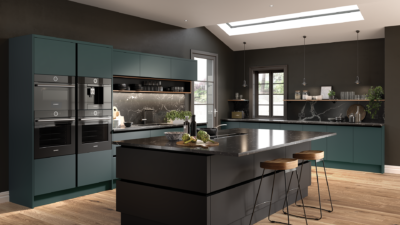 Dark Coloured Kitchens