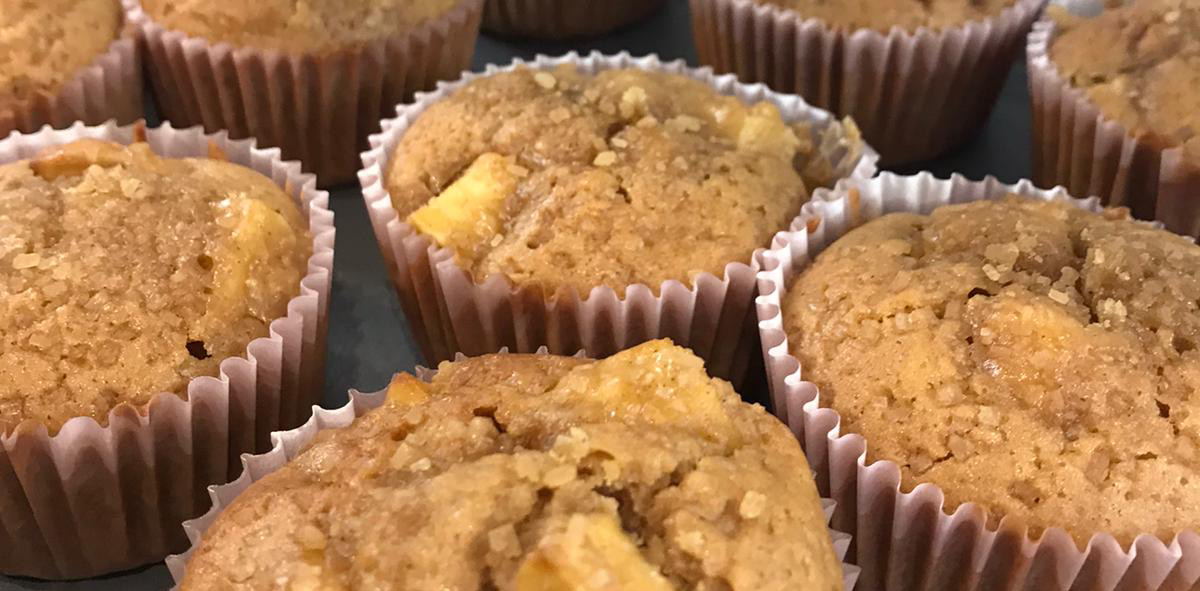 Get Autumnal with our Delicious Apple and Cinnamon Muffins