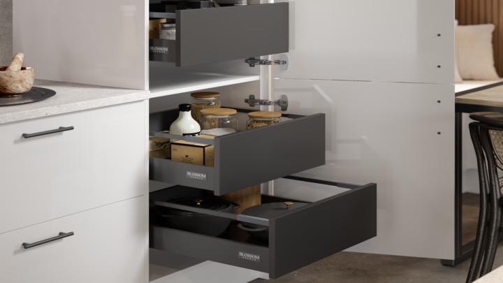 Option 2 - Internal drawers matching the drawer boxes